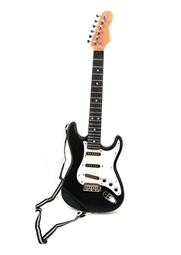 Hot Rock Electric Battery Operated Toy Guitar, Plays 4 Different Rock Rhythms, Integrated Auto Play Demo Mode, Working (Guitar Electric Rock)