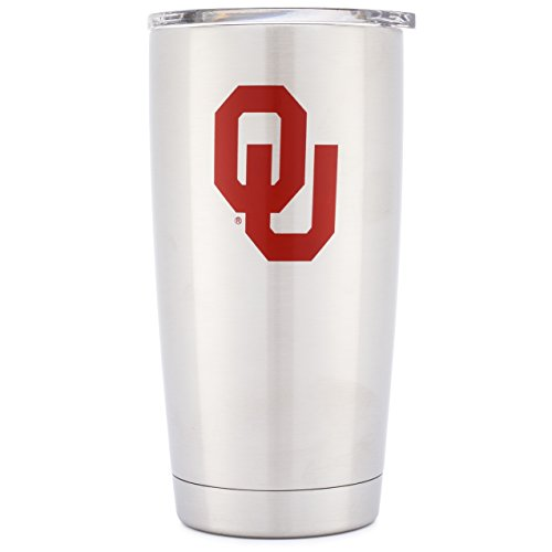 Oklahoma Sooners Stainless Steel Thermos - 1