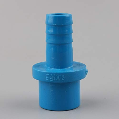 Garden Hose Adapter - 5Pcs 20Mm to 8/10/12/16 mm Hose Connector Quick Connector Hard Tube Plastic Pagoda Joint PVC Pipe Adapter for Garden Irrigation