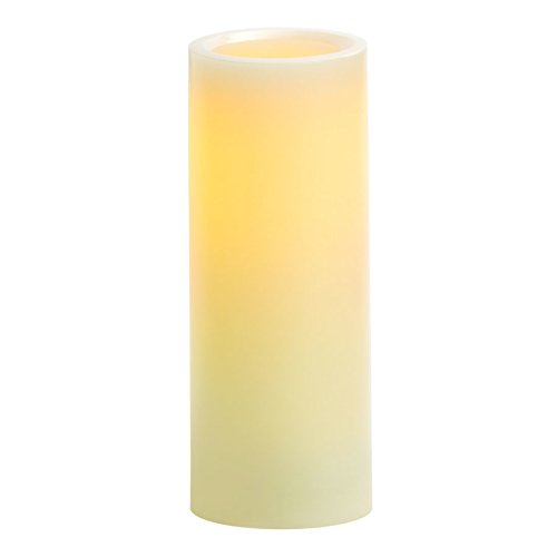 Candle Impressions CAT64800CR01 8 Smooth Flameless Candle with Vanilla Fragrance, Cream Northern International