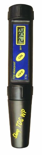 Milwaukee T75 Waterproof TDS/Temp Tester with Replaceable Electrode, 0 to 1999 ppm, 1 ppm Resolution, +/-0.2 percent Accuracy (Electrodes Replaceable)