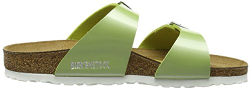 Birkenstock Sydney - Sandalias de sintético Mujer, color verde, talla verde - Green (Pearly Apple)