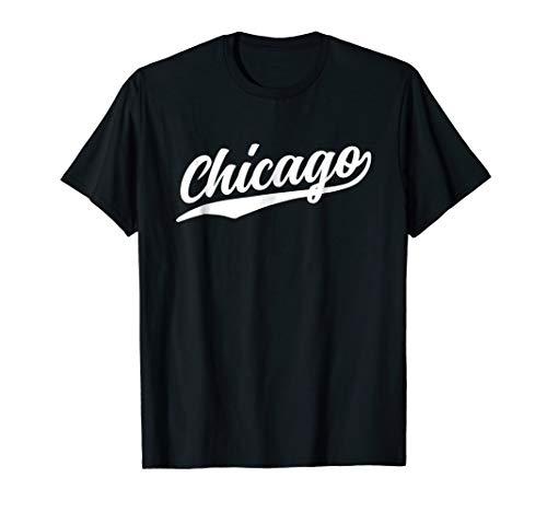 (Chicago Illinois Cool NY Retro 1970s T-Shirt)