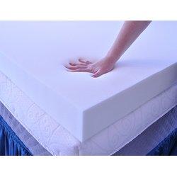 Serta 4-inch Memory Foam Mattress Topper with Contour Pillows (Queen)