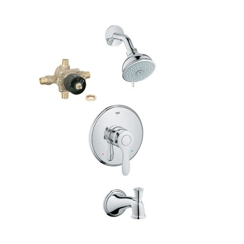 - Grohe KTS35040-35015-000 Parkfield Tub/Shower Combo