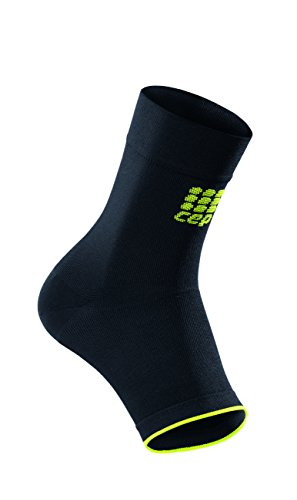 CEP Unisex Graduated Ankle Sleeve (Black/Green) II