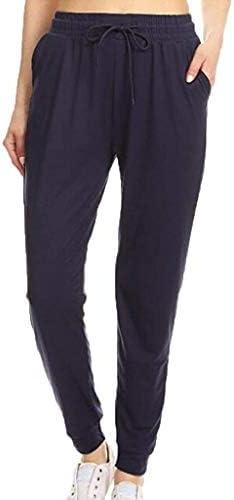 Bnoukyue Women`s Athletic Sweatpants Sports Pants Athletes Exercise Pants Elastic Waistband Camouflage Pants Work Trousers