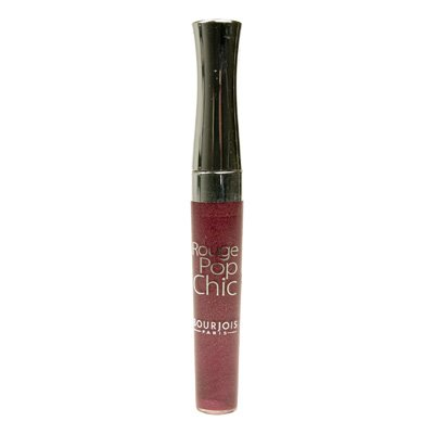 Bourjois - Lip Color - Rouge Pop Chic Lipgloss -Rouge Pop Chic Lipgloss - # 04 Prune Glycero 4.5ml/0.1oz Bourjois