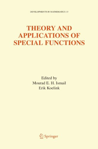 Theory and Applications of Special Functions: A Volume Dedicated to Mizan Rahman (Developments in Mathematics) (Application Of Integral Calculus In Electronics Engineering)