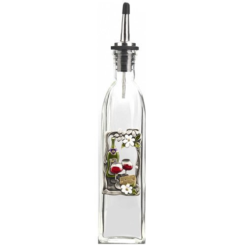 - Color Art Oil Bottle By Ganz - Wine & Cheese
