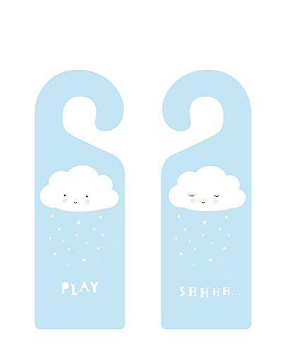 A Little Lovely Company - Cartel para puerta Cloud: Amazon ...