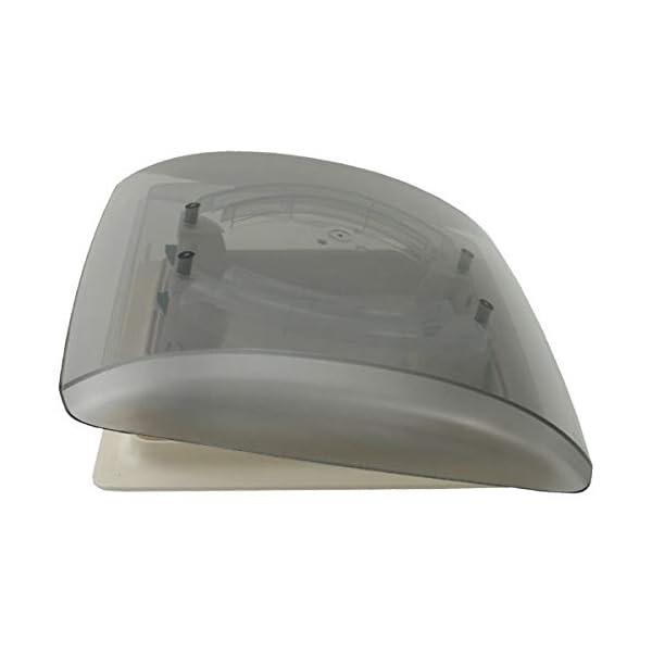 MPK Vision Vent S pro getönte Klarglas Dachluke Dachfenster Dachhaube Doppellplissee Insektenschutz 28 x 28 Wohnwagen…