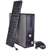 Dell Optiplex 760 Small Form Factor Desktop (2.66 GHz Intel Core 2 Duo, 4GB RAM, 250GB HDD, Windows 7) Refurbished