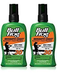 Bug Block - 2-pack:Bullfrog Mosquito Coast Sunscreen and Insect Repellent SPF 30 Pump Spray