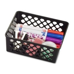 [Officemate Plastic Supply Basket] (Recycled Material Costume)