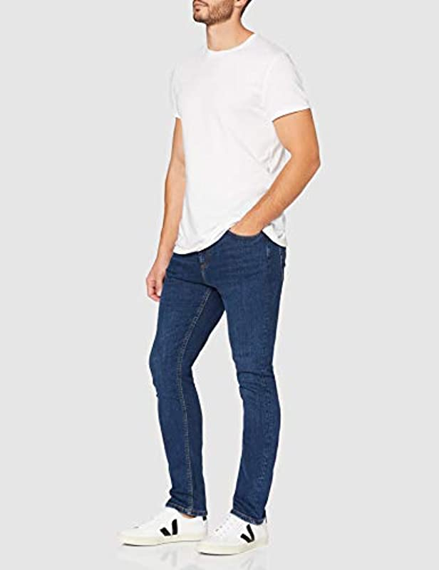 MERAKI Męskie Skinny Fit Jeans, Bio-Baumwolle: Odzież