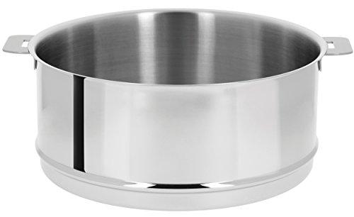 Cristel ECV26Q Steamer, 6.5 quart, Silver by Cristel