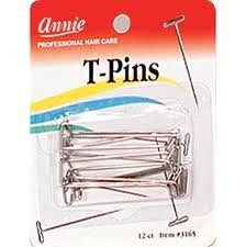 T-Pins for pinning wigs on foam head - coolthings.us