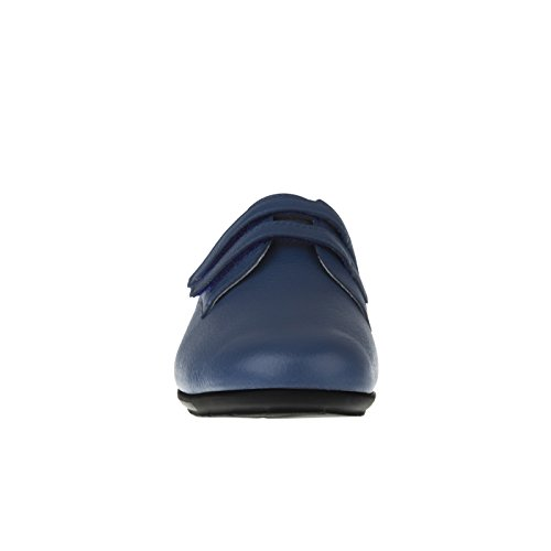 Tessamino Vrouwen Halbschuh Klimmen Van Herten Huiden | Elegant | Breed H | Voor Storting-blue