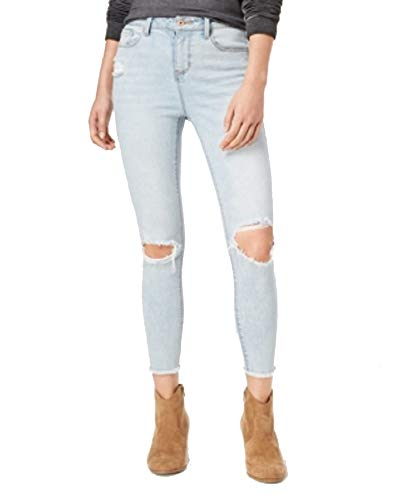 American Rag Juniors' Ripped Ankle-Length Skinny Jeans (Jagger, 13) ()