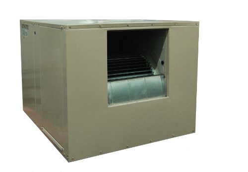 - MasterCool AS2C71 Side-Draft Evaporative Cooler with 2,300 Square Foot Cooling, 7,000 CFM