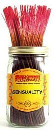 Sensuality Incense - Sensuality - 100 Wildberry Incense Sticks by Wildberry 100 Stick Pack