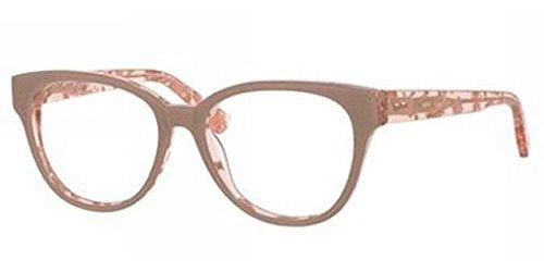 Jimmy Choo Eyeglasses JC 141 Eyeglasses J42 Nude Spotted - Choos Nude Jimmy