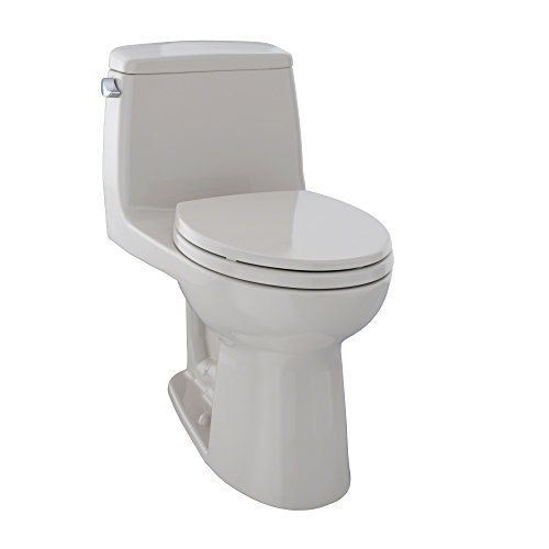 - TOTO MS854114#12 Ultimate Elongated One Piece Toilet, Sedona Beige