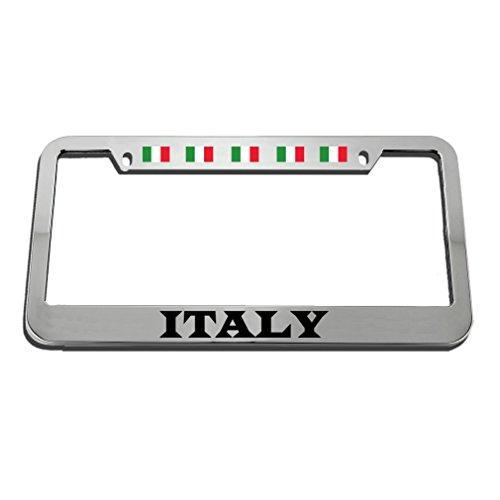 Speedy Pros Italy Style 2 License Plate Frame Tag Holder by Speedy Pros