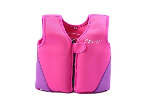 [Child's Swim Small Life Vest 18 Month - 2 Years Colour Pink] (Buu Costume)