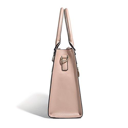 de Satchel Mujeres seoras Bolsos Bags de Kadell 2018 Top Las del PU de de Rosa Hombro Rosa Las Cuero la Handle wv7pqIZ