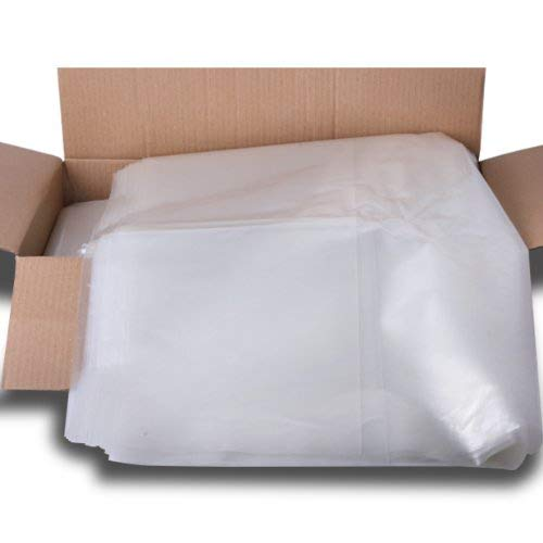10 Pack Of Strong Heavy Duty Clear Refuse Rubbish Sack Liner Bags For Wheelie Bins by The Chemical Hut