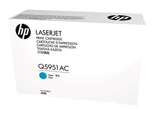 HP Laserjet Q5951AC Cyan Contract Toner Cartridge