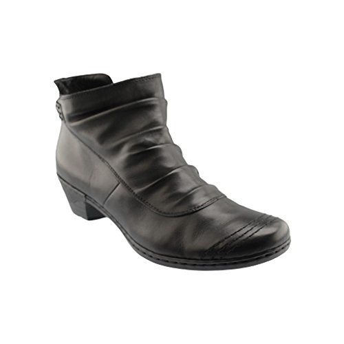 Rieker Woman Cerase Rieker Black Boot Boot Woman Cerase q5UwH1