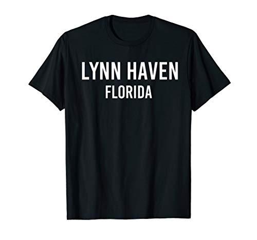 LYNN HAVEN FLORIDA FL USA Patriotic Vintage Sports T-Shirt (Grey Lynn Weather)