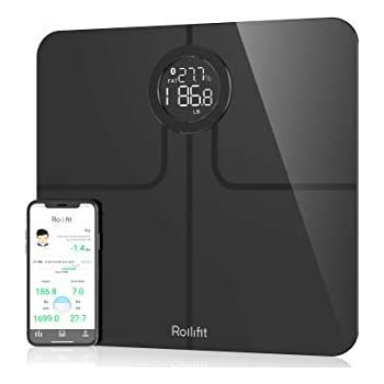 Amazon Com Rollifit Smart Body Fat Scale Digital