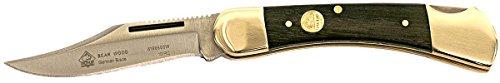Puma SGB Bear Jacaranda Wood Lockback Folding Pocket Knife