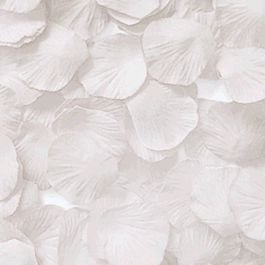 blinkee White Rose Petals Confetti Cannon 16 Inch by