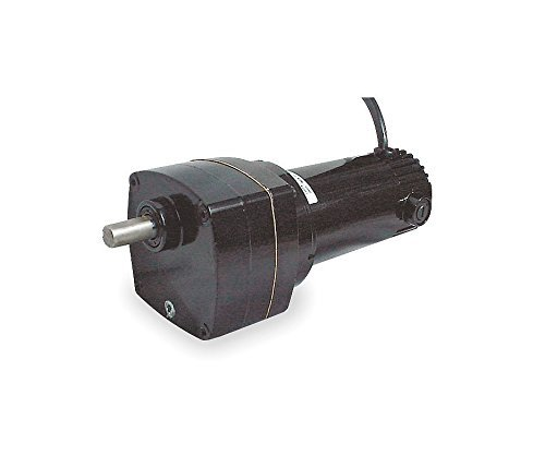 Dayton DC Parallel Shaft TENV Permanent Magnet Gear Motor 5 RPM, 1/20hp 90 Volts DC Model 2H569 by Dayton Dayton Permanent Magnet