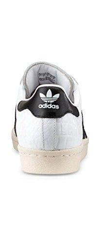 Sneaker II Uomo Superstar Bianco Nero adidas tvqE5wdn