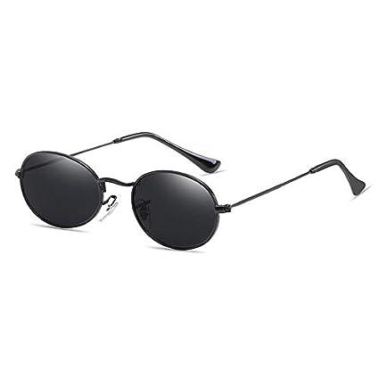 5268c288de Morrenz - Fashion Vintage Small Oval Sunglasses Women Metal Mirror Female  Sun Glasses Red Gold Retro