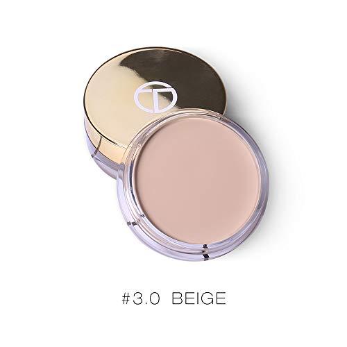 Makeup Base Concealer Makeup Concealer Cream Oil-Control Scars Freckles Black Eye Full Cover Makeup Face Base Foundation -