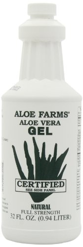 Aloe Farms Aloe Vera Gel Organic, 32-Ounce (Packaging May Vary)