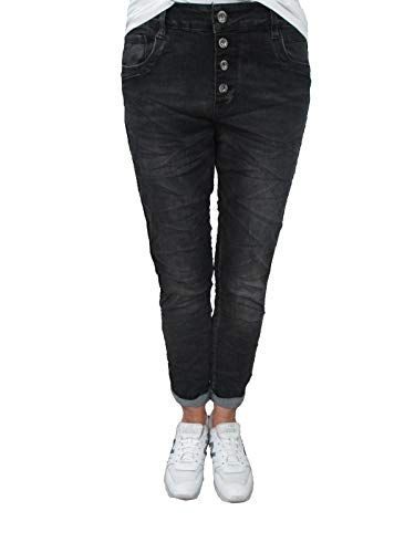 by Femme Karostar Lexxury Noir Boyfriend Jeans g1wO0a