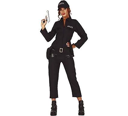 Guirca Disfraz de Policía Local para Mujer: Amazon.es: Juguetes y ...