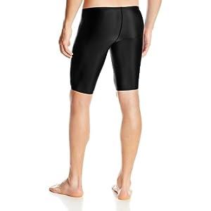 Speedo Men's Pro LT Jammer Swimsuit, Black, 34