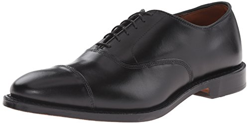 (Allen Edmonds Men's Park Avenue Cap Toe Oxford,Black,12 D)