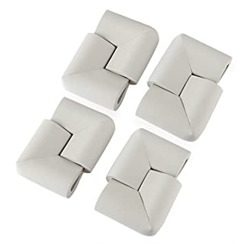 8x Child Table Corner Edge Rubber Protector Baby Safety Corner Cushion Cover