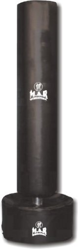 M.A.R International Ltd. Freestanding High-Density Punching Bag with Steel Spring Rebounds – for All Environments