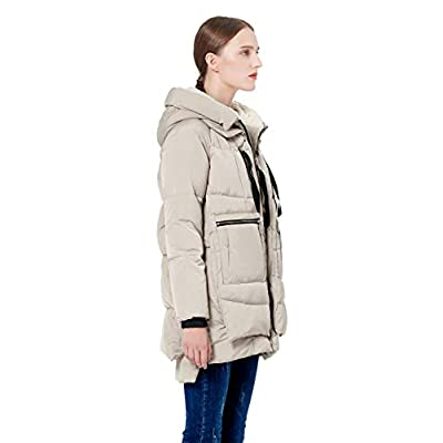 Orolay Women's Thickened Down Jacket: Clothing